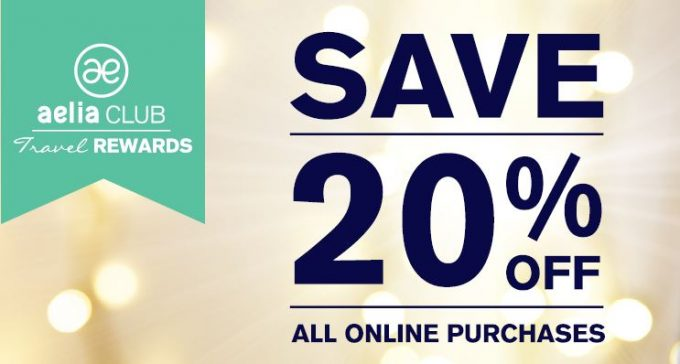 Sign up and save with Aelia Duty Free New Zealand