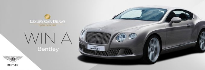 WIN a Bentley with Qatar Duty Free
