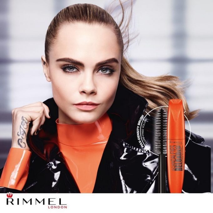 Cara reboots the London Look for Rimmel