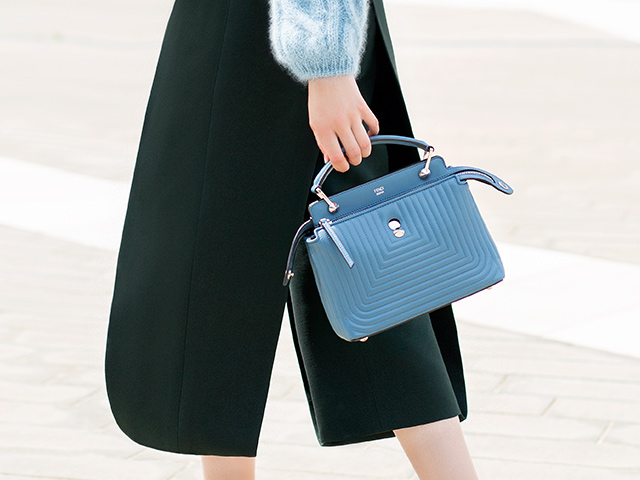 Fendi Dotcom Click is the new weekend bag to have