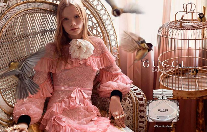 Gucci in the pink for new Bamboo campaign