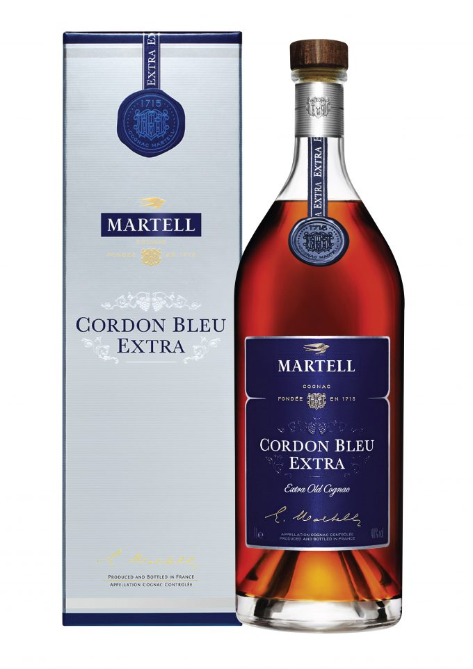 Martell launches Cordon Bleu Extra, duty-free exclusive edition