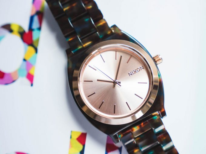 WATCH OUT: Nixon collaborates with Liberty of London