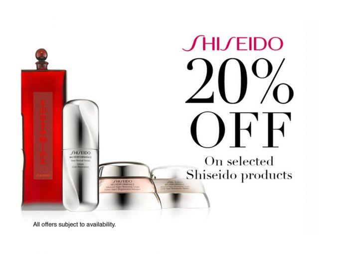 SAVE: +20% off Shiseido, La Mer, Calvin Klein, Chloe & more at Qatar Duty Free