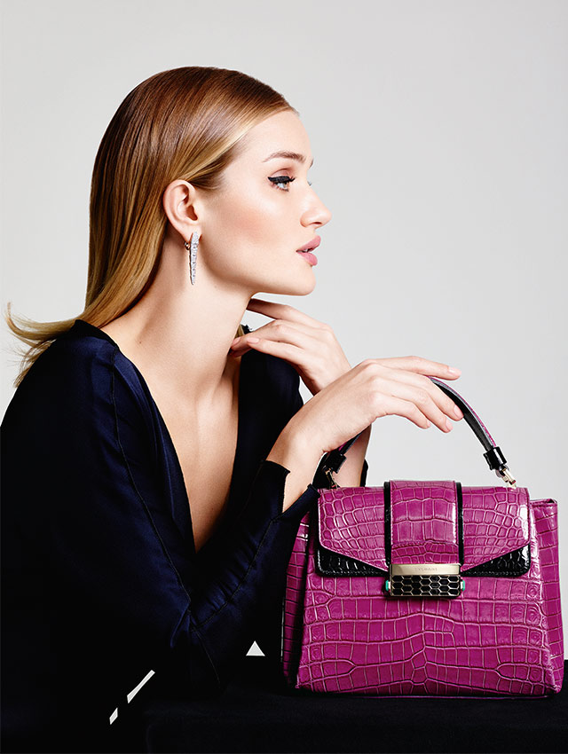 Bulgari Serpenti bags never looked so good