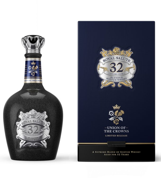 Royal Salute introduces Royal Salute 32 Year Old Union of the Crowns