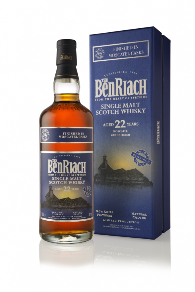 BenRiach launches limited edition Moscatel Wood Finish single malt aged 22 years