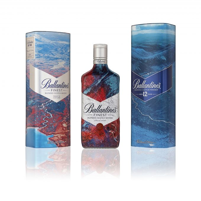 Ballantine's debuts David Ma Artist Series gift packs in duty-free