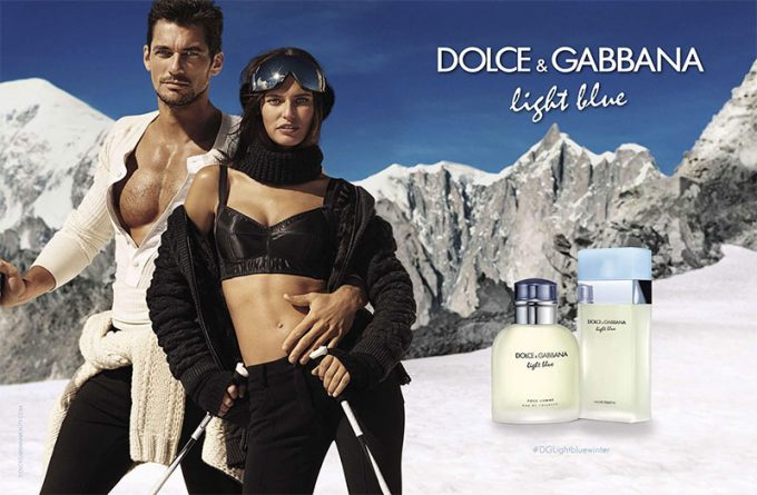 Bianca Balti & David Gandy chill for Dolce & Gabbana