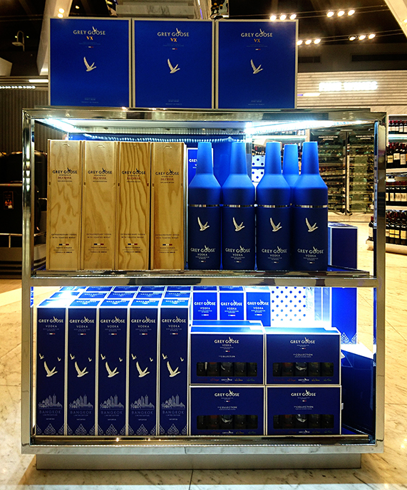 Grey Goose debuts Bangkok limited edition at King Power Duty Free