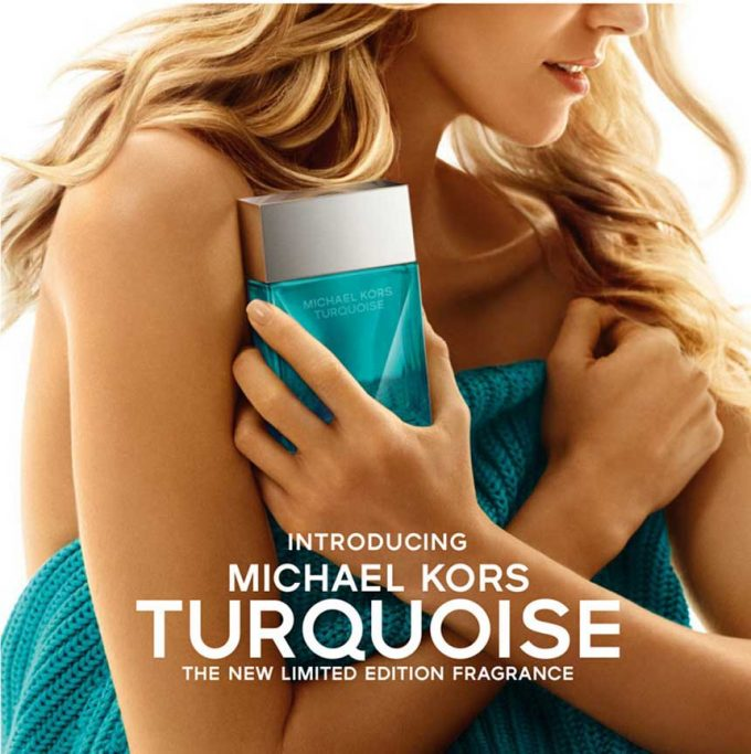 Michael Kors turns Turquoise for fresh new scent