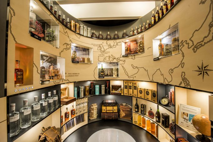 Travel to the origins of elite spirits at Amsterdam Schiphol