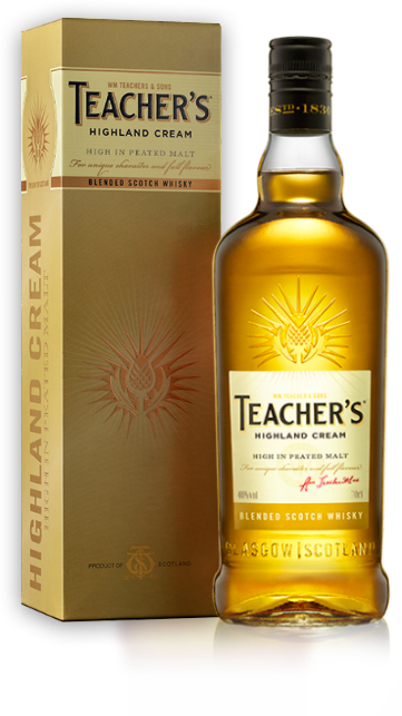 TEACHER'S SCOTCH WHISKY duty free