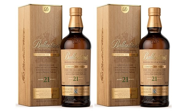 Ballantine's unveils its second 21yo Signature Oak edition as duty-free exclusive
