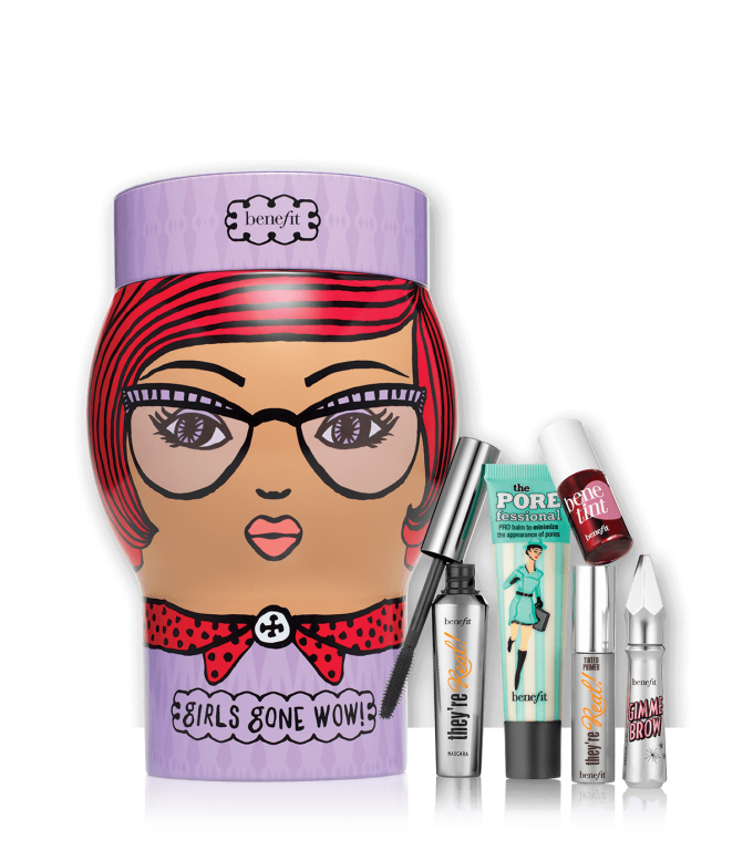 Meet Benefit Cosmetics' Christmas crackers