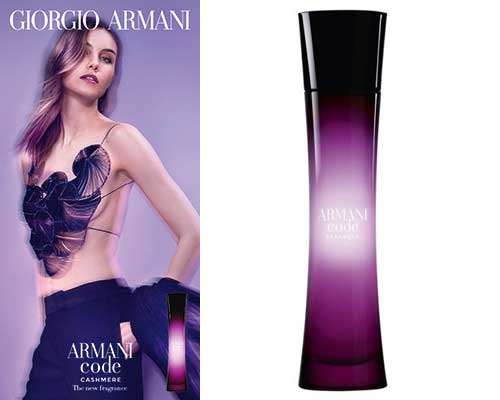 FIRST LOOK: Armani Code Cashmere set for January launch