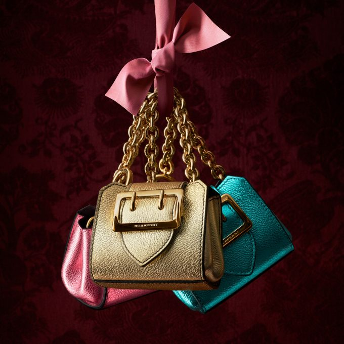 Burberry charms shoppers with Mini Buckle Tote