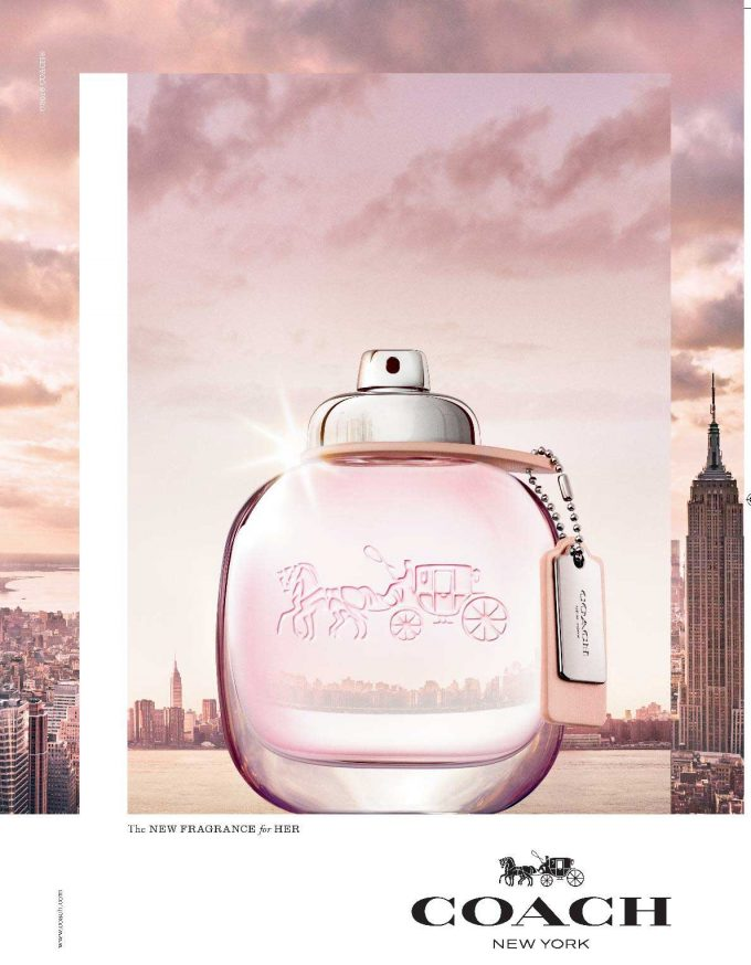 Coach the Fragrance debuts in two versions