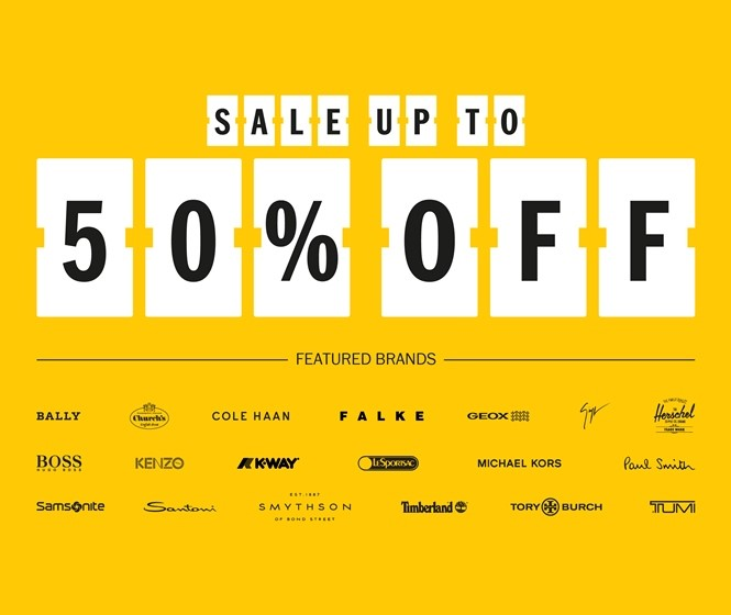 DFS End of Season sale starts with up to 50% off major labels