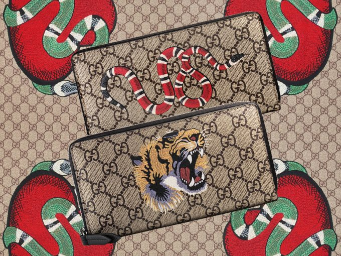 Gucci cuts loose with a roar, hiss, buzz on new accessories