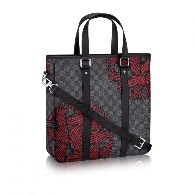 6b0e9fcb3f1b FIRST LOOK  Louis Vuitton unveils Damier Nemeth Rope collection ...