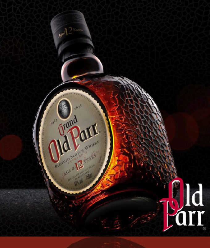 OLD PARR duty free