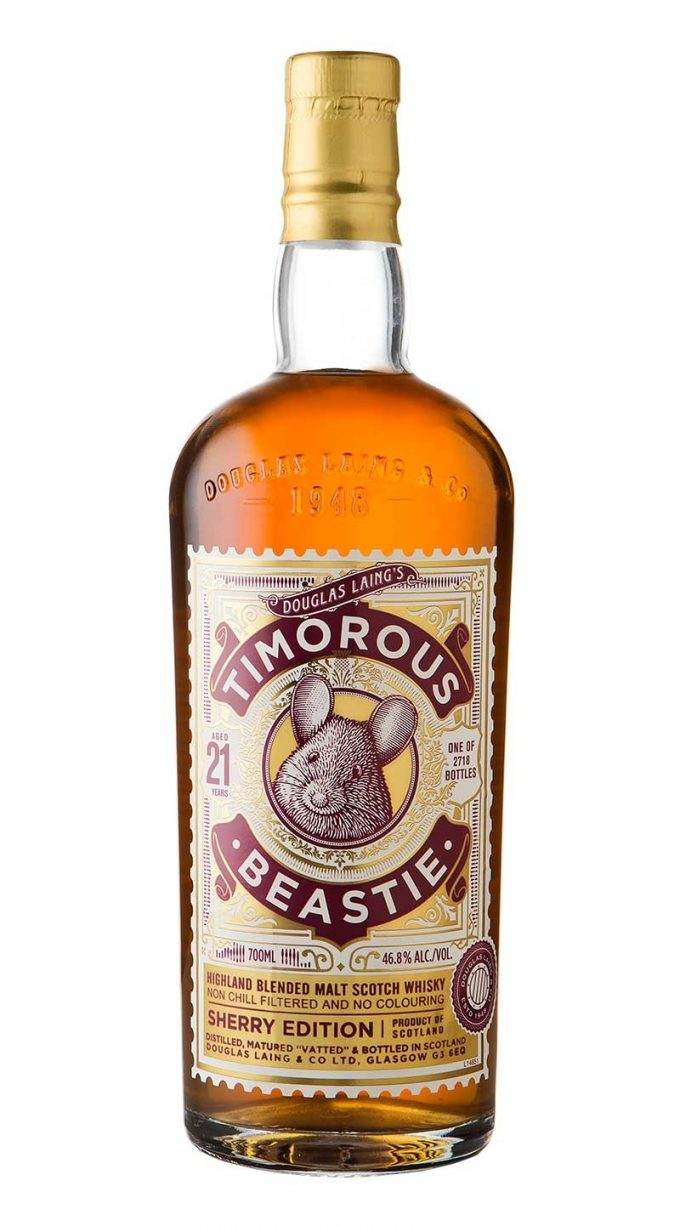 Timorous Beastie debuts 21 Year Old edition with a sherry twist