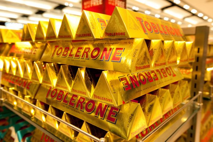 Toblerone shrinks bars, changes shape to keep prices down