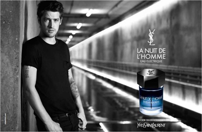 YSL adds spark to L'Homme fragrance with Électrique edition