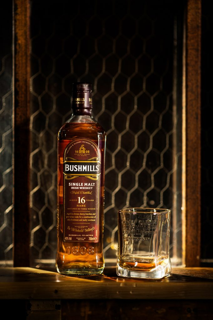 Bushmills Irish Whiskey announces release of rare 16 and 21-year-old single malts