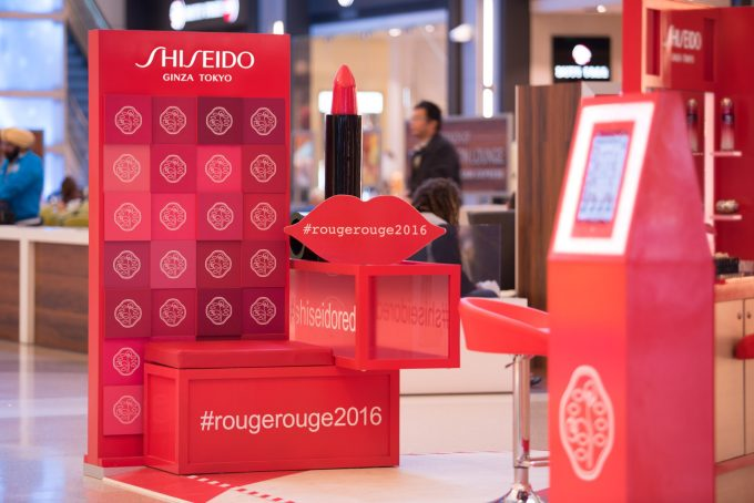 Shiseido showcases Rouge Rouge collection at LAX International Terminal