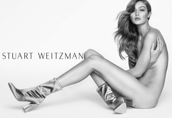 Gigi Hadid stars again for Stuart Weitzman