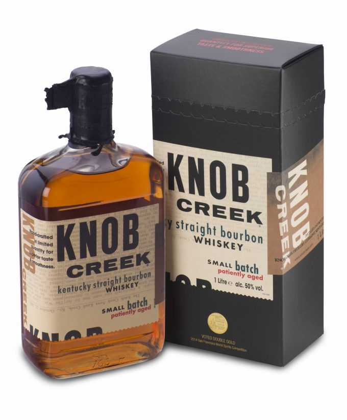 Knob Creek limited edition box heads for airport duty-free shops in time for the Holidays
