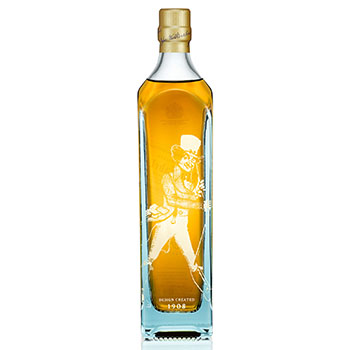 Johnnie Walker honours the Striding Man with Blue Label special editions