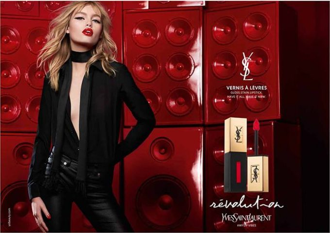 YSL 'tunes the colours' for Spring 2017 lips