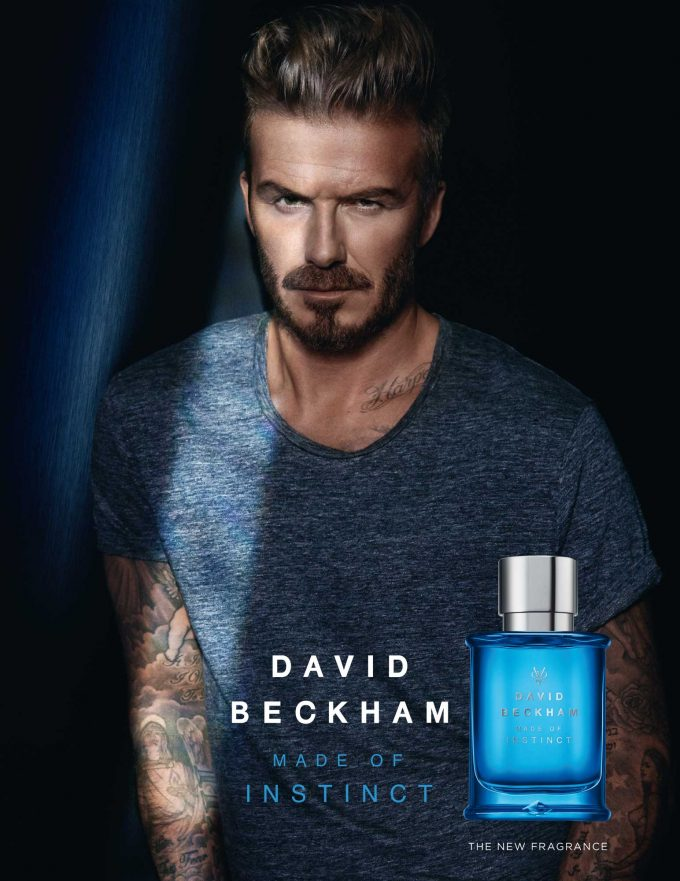 David Beckham extends fragrance empire with Made of Instinct launch