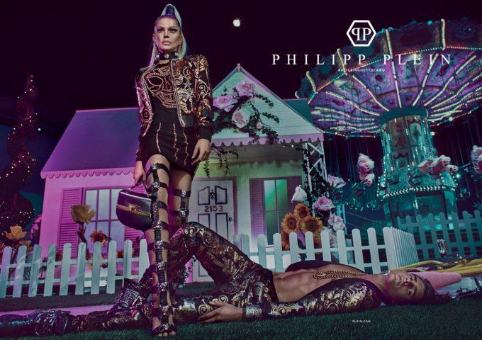 Fergie stars in Philipp Plein Spring campaign by Steven Klein
