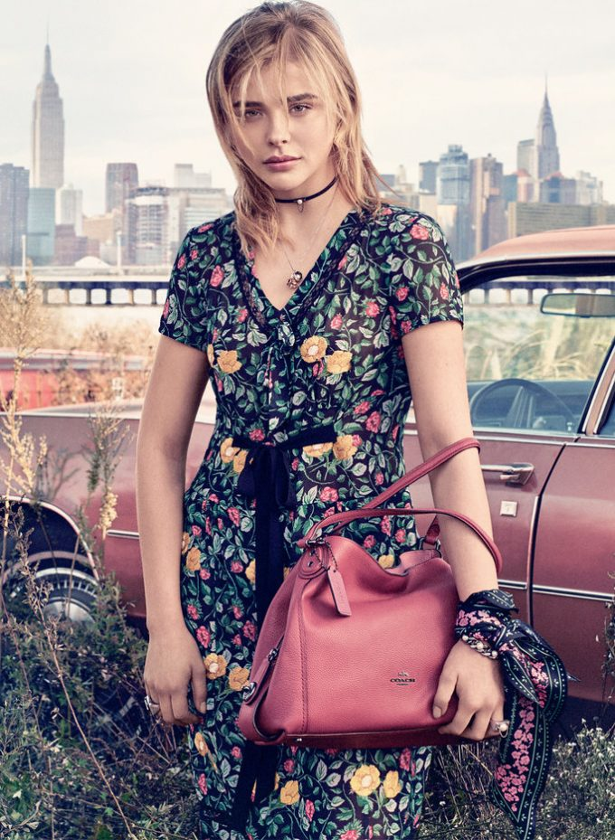 Coach casts Chloë Grace Moretz as its NYC girl