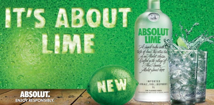 Absolut releases Lime edition – its first new flavoured Vodka since 2013