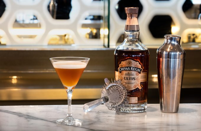 Chivas Regal Ultis takes to the skies with Qantas