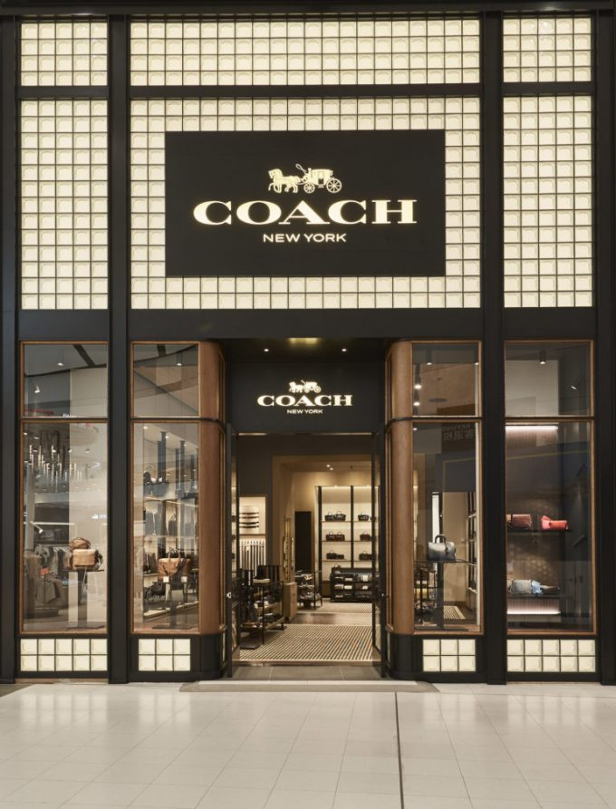 Coach flies into Sydney Airport's T1 fashion precinct