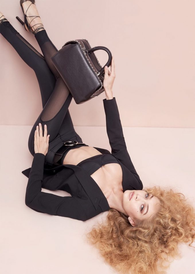 Max Mara bags Gigi for Spring accessories campaign