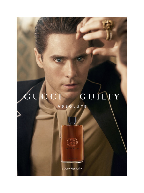 Gucci defines masculinity with new Gucci Guilty Absolute scent