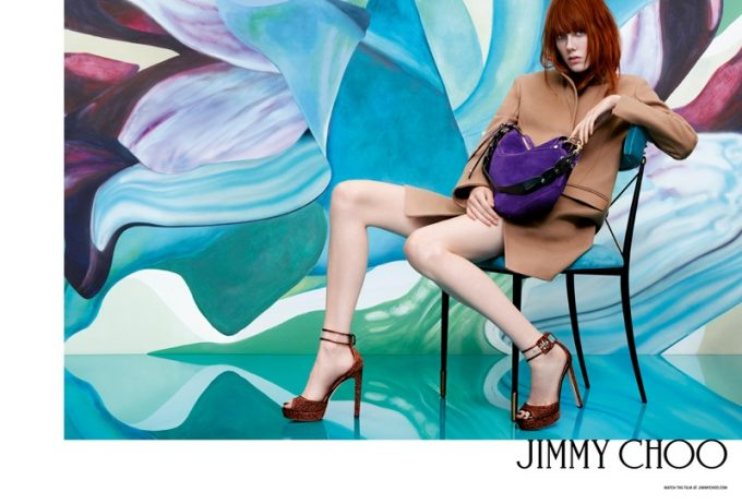 Jimmy Choo taps nature's one-of-a-kind beauty for Spring inspiration
