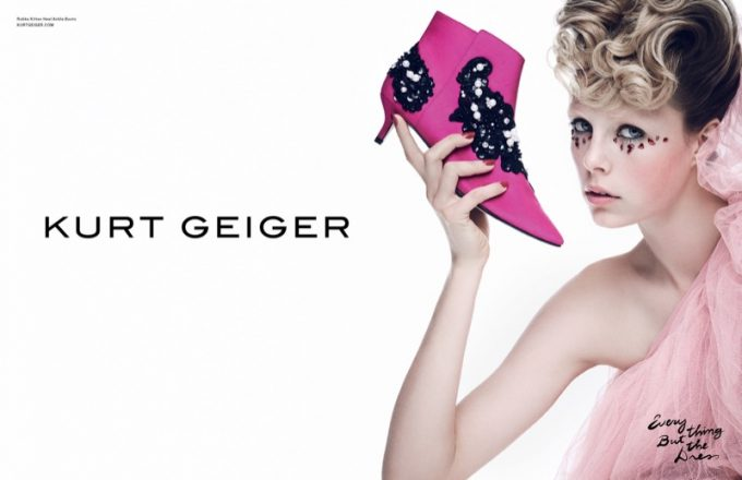Kurt Geiger wows with 'Everything but the dress' campaign