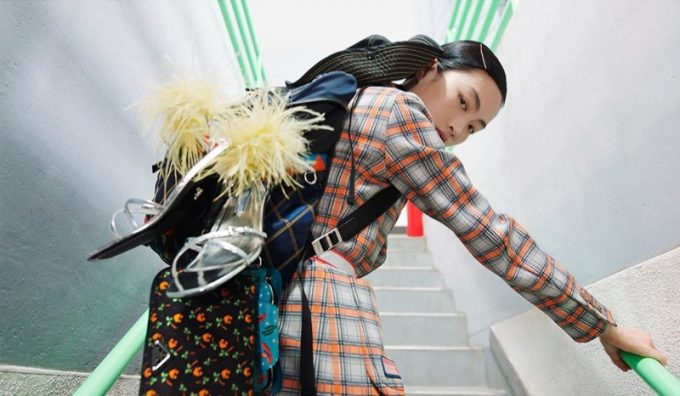 Prada hits the travel trail for Spring