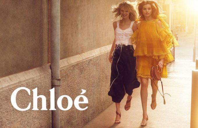 New Romantics: Chloé dresses up with sunshine & flowers