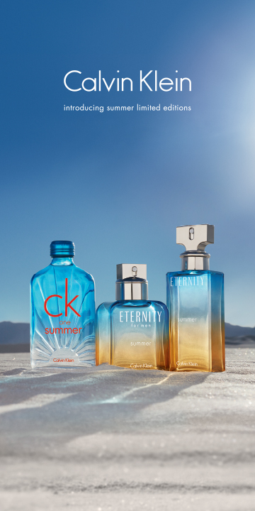Calvin Klein unveils new summer scents for Eternity and CK one lines
