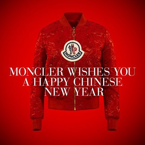 Moncler marks Lunar New Year with Rooster red jackets