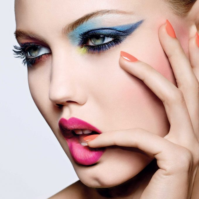 Dior loads up on colour for spring beauty look